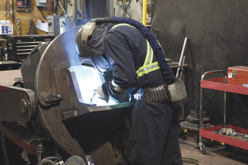 Weldco-Beales has invested in Lincoln welding equipment and positioners,