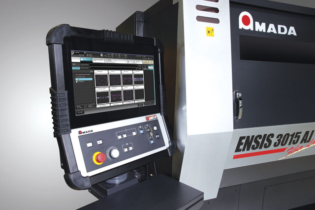 Today's machines offer fabricators the ability to monitor the health and efficiency if a laser cutting machine in real time.