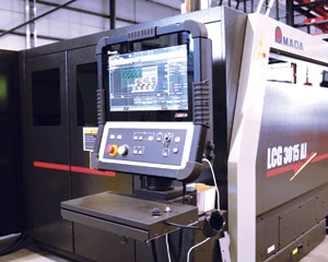 Part of IMP's strategy to improve production efficiencies included the purchase of a fast fiber laser cutting system, the Amada 6000 watt LCG 3015 laser.