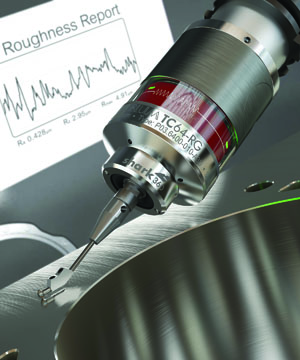 The need to make quality parts the first time means having the right metrology to help achieve this.  Image: Blum-Novotest roughness gauge