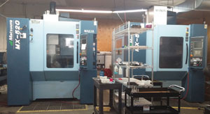 Matsuura five axis vertical machining centre at B&R.