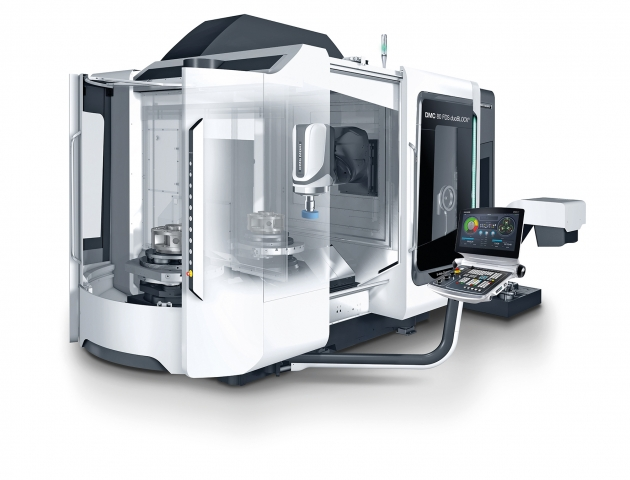 DMG MORI's duoBLOCK FDS models with grinding capabilities