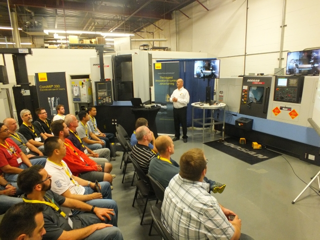 Ferro holds machining event with Sandvik Coromant and other partners
