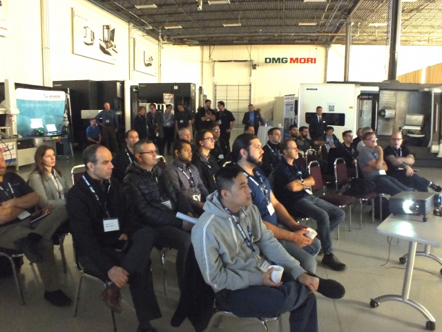 Attendees at the DMG MORI Canada Technology Days