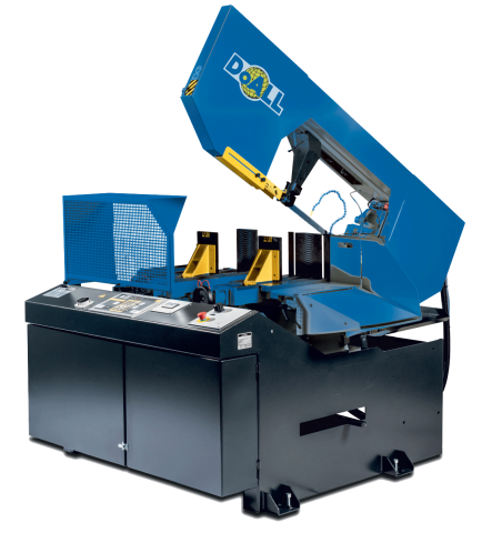 DoALL's DS-400NC general purpose dual swivel structurALL series band saw