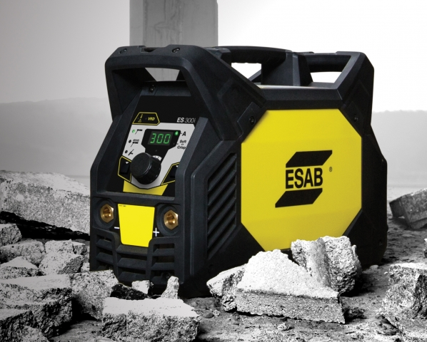 ESAB's Renegade ES 300i stick-TIG welder with more power in a portable package