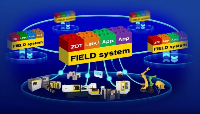 Fanuc's Field system, an Industrial Internet of Things technology tool for advanced analystics and learning capabilities for Fanuc CNCs and robots, devices and sensors in automation systems