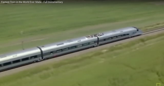 Fastest train in world being built