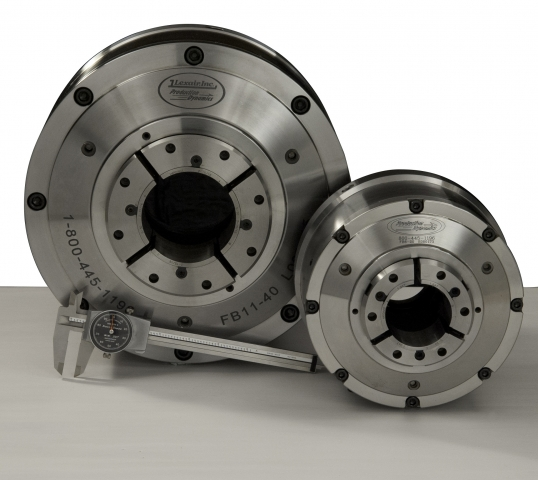 Lexair's full bore chuck boosts spindle capacity by up to 30%