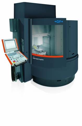 GF Machining Solutions Mikron HSM 500 graphite closed
