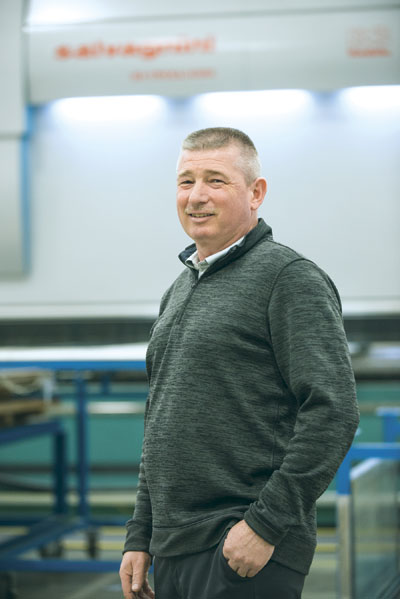Greg Freitas, general manager at TMI Climate Solutions, credits part of the company's success in Canada and in the US to the Salvagnini equipment.