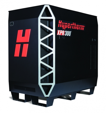 Hypertherm BS XPR300 is a new class of plasma for cutting on mild steel, stainless and aluminum