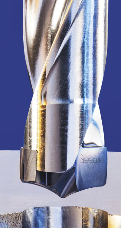 Iscar's line of drilling heads, SumoChamIQ, are available in 8 to 25.7 mm, in 0.5 mm increments.