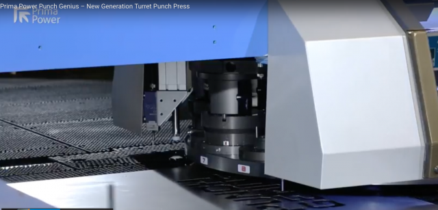 Prima Power's new generation Punch Genius turret punch press