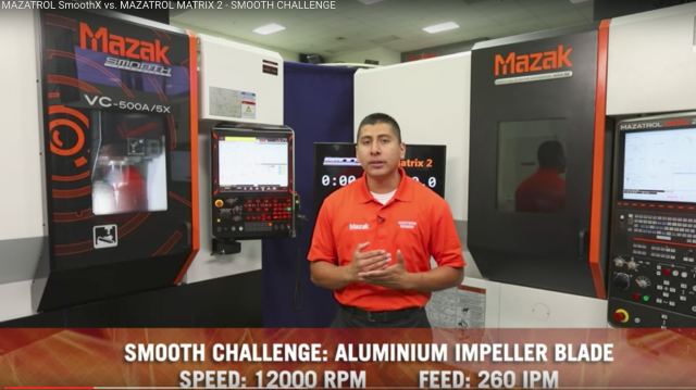 Mazak runs CNC program challenge to test its Smooth technology