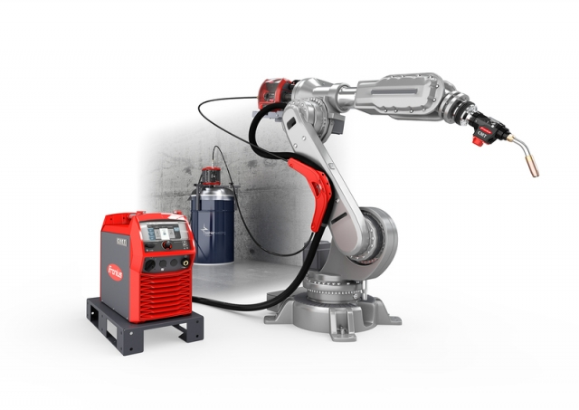 Fronius TPSi robotics with new package for stable cold metal transfer welding