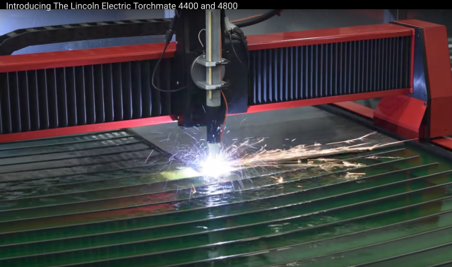 Lincoln Electric's Torchmate plasma cutting tables