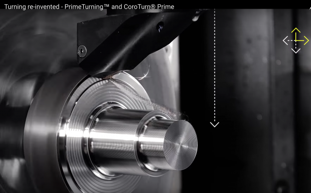 Sandvik Coromant PrimeTurning is a new methodology that offers turning in all directions