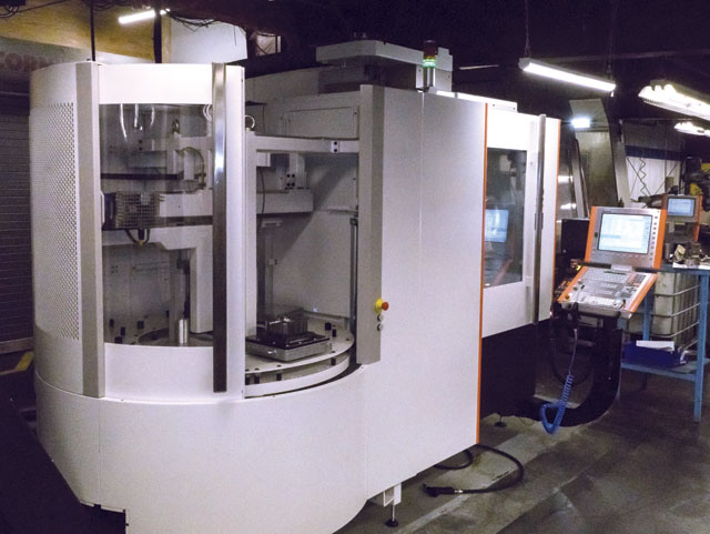 Lofthouse's newest Mikron, the HPM 450U, equipped with a 20,000 rpm spindle and seven pallets, has greater workholding capacity, which allows for unattended machining of dies to meet increased demand from customers.