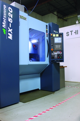 MEIC's Maxia MX-520 five axis machining centre from Elliott Matsuura has been a game changer for the company.