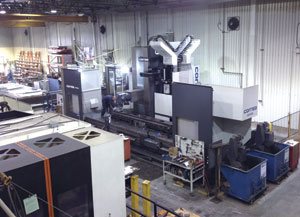 OSI Précision's most recent investment, a six axis Axia-70 machining centre from machine builder Correa (purchased from Elliott Matsuura Canada) has helped the company reduce setup times and bring in new types of work.