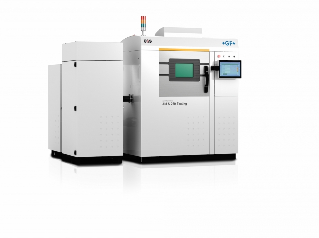 GF Machining Solutions, EOS launch the Agie Charmilles AM 290 S Tooling