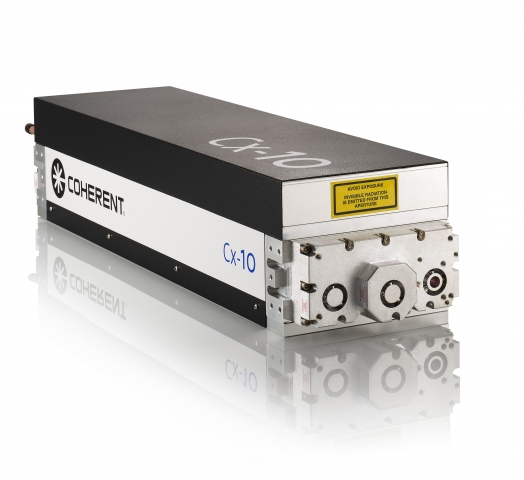 Coherent's new small 120 W CO2 laser for compact machine tools