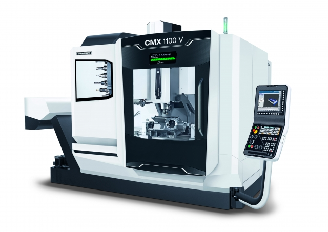 DMG MORI's vertical milling machine, CMX series