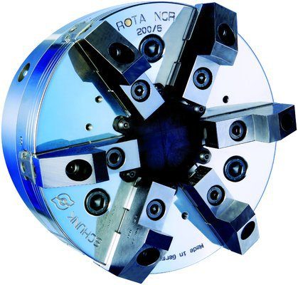 Schunk's 6-jaw compensation chuck
