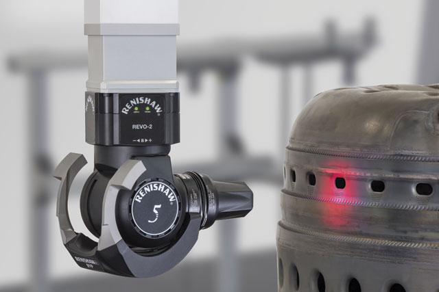 Renishaw is developing Revo as a multi-sensor platform and will include non-contact sensors such as a surface finish probe.
