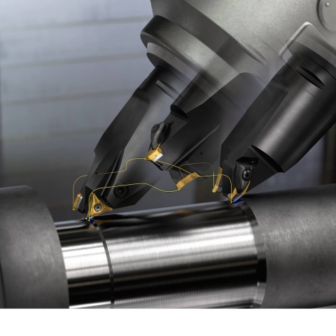 Sandvik Coromant's new toolholders for its PrimeTurning concept