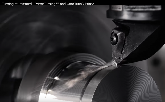 Sandvik Coromant's PrimeTurning is a new turning methodology that enables turning in all directions.