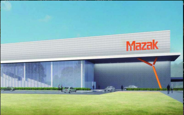 Mazak opens iSmart Factory at its Oguchi, Japan plant
