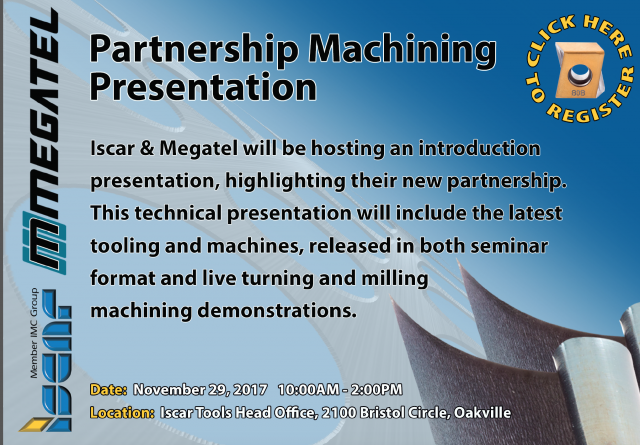 Iscar, Megatel form partnership