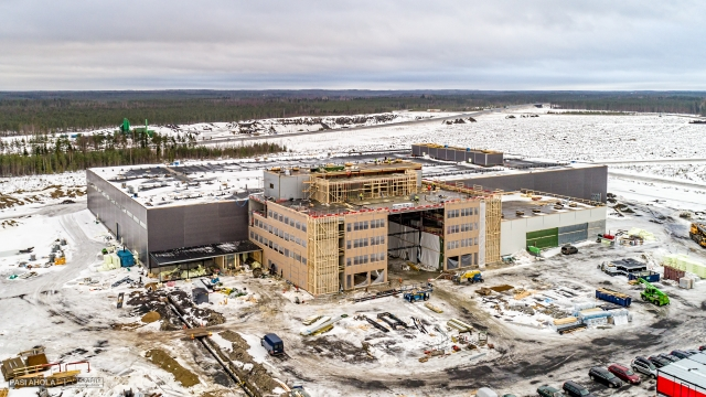 The Finn Power Oy plant in Seinajoki, Finland