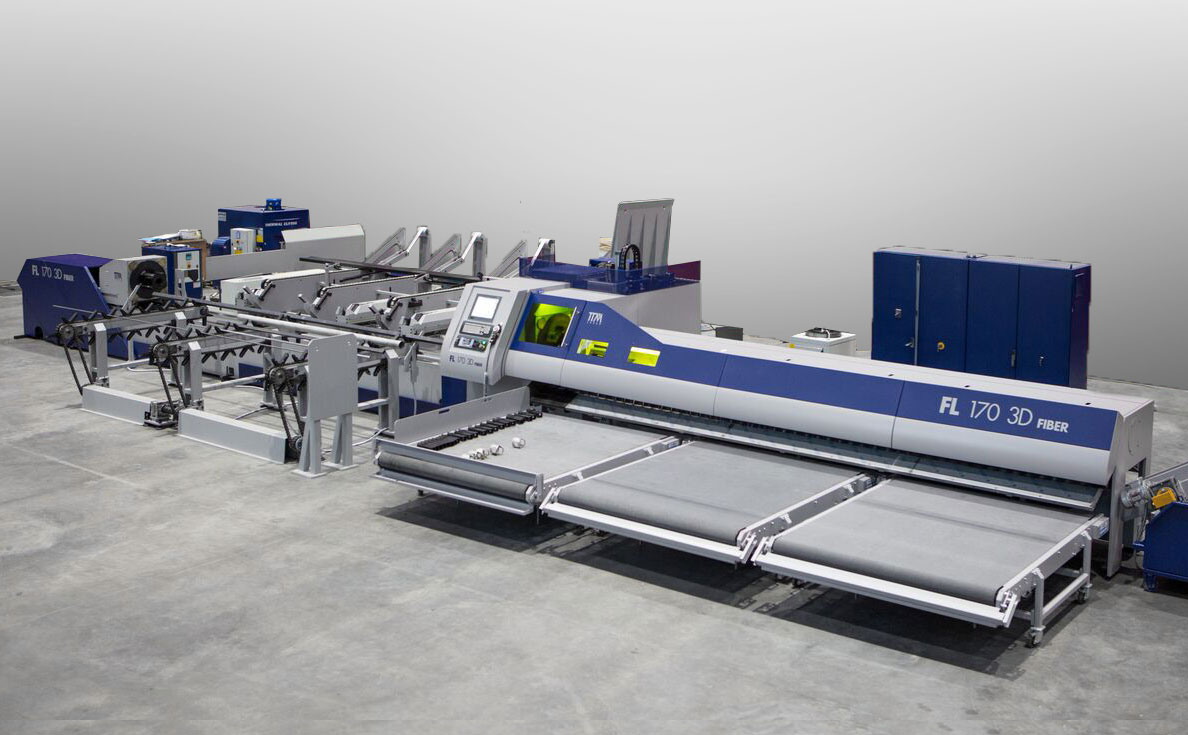 TTM tube laser cutting machine