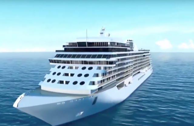 Building the world's most luxurious cruise ship