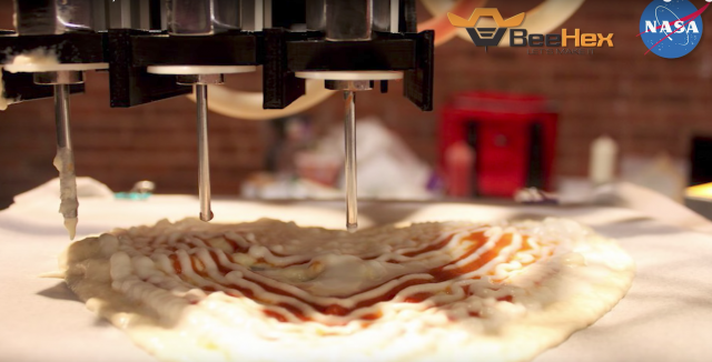 NASA's 3D printed pizza and 17 other interesting 3D printed objects