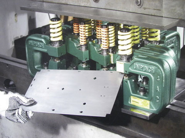 The UniPunch system can help fabricators improve productivity and cut costs, according to the company.  Image: UniPunch