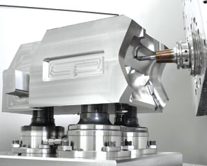 Balance is obviously a big part of the high speed machining equation, but taper accuracy and rigidity are just as important in high speed machining according to Haimer's Drew Strauchen.