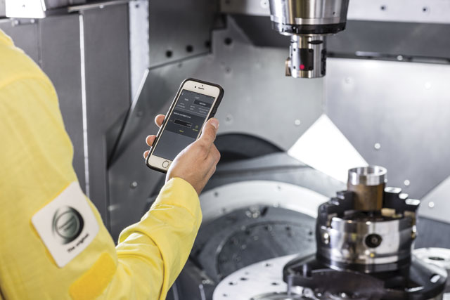 The new generation of automated solutions brings operator control to personal devices. Sandvik Coromant's CoroPlus uses Bluetooth to enable an operator to make changes to a machine from a PC, laptop, iPad or smartphone
