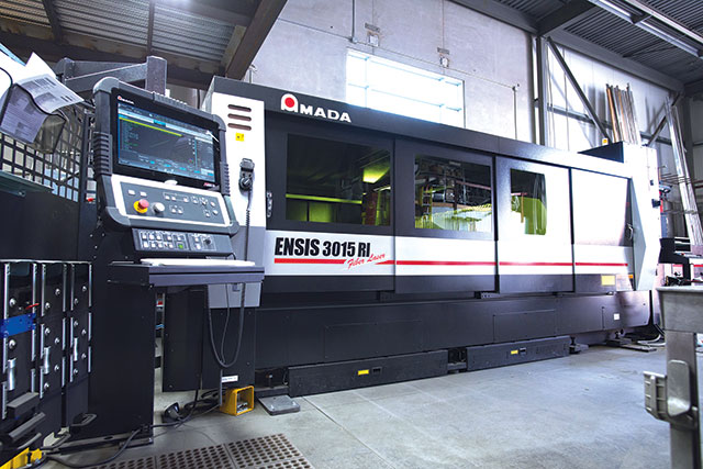 Amada's ENSIS RI fiber laser cutting machine has shifted Reggin Industries to a higher level of productivity as it gears up for future growth plans.