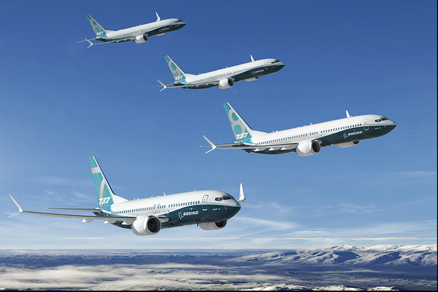 Boeing 737 Max image: Boeing