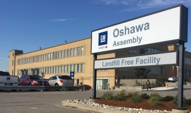 GM Canada Oshawa assembly plant
