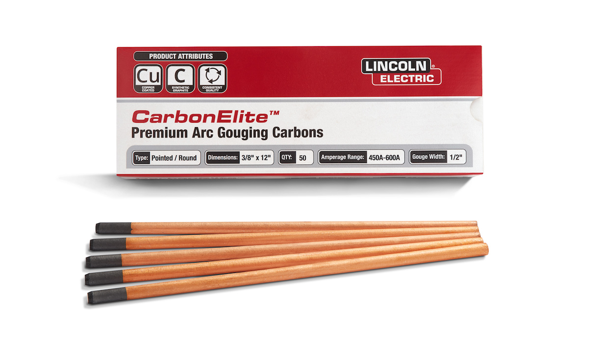 Lincoln Electric launches arc gouging carbon electrodes line