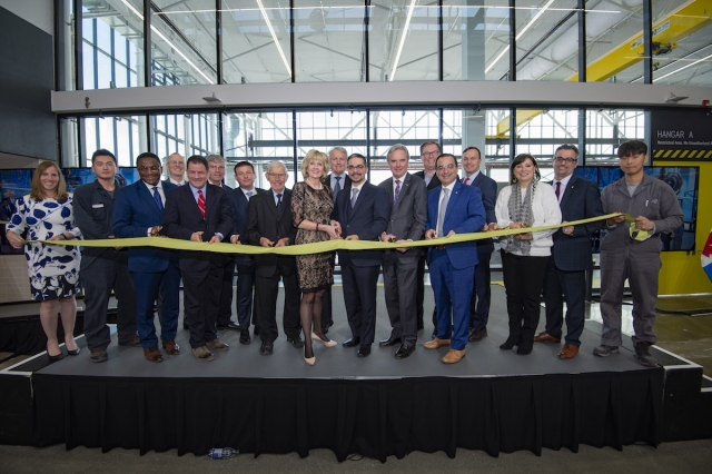 Centennial celebrates opening of its Centre for Aerospace and Aviation