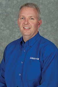 David McHenry,  engineering and technical manager Rego-Fix Tool Corp.