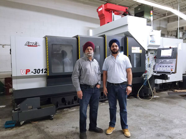 AWEA VP bridge type machining centre