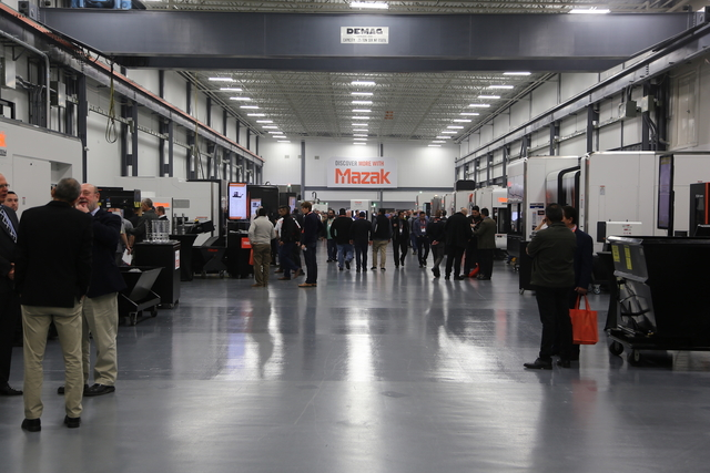 The Mazak Discover Manufacturing event 2019