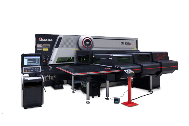 Amada EML 2515 punch fiber laser machine